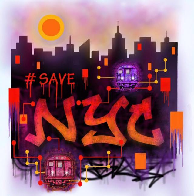SAVE NYC by BILL BLAST